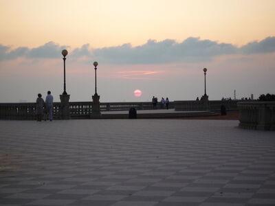 Terrazza mascagni sunset