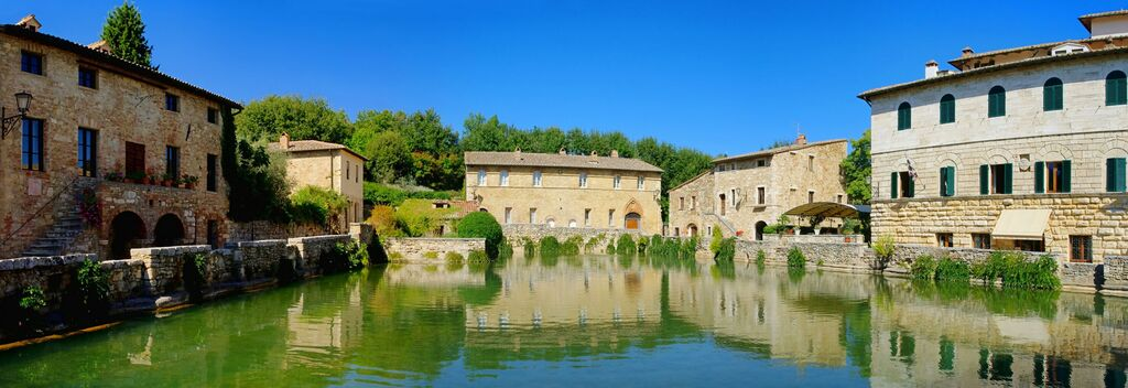 Spend A Few Hours Bathing In One Of Tuscany's Famous Outdoor Thermal Pools!
