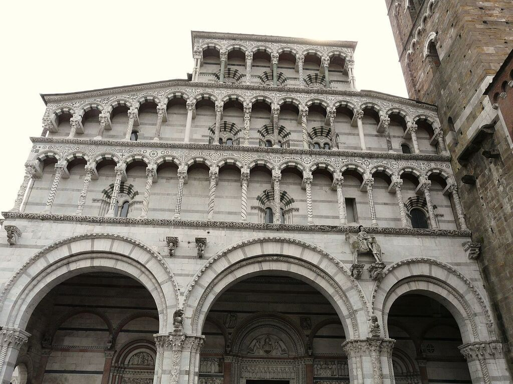 Kathedraal Van Lucca.Lucca S Cathedral San Martino