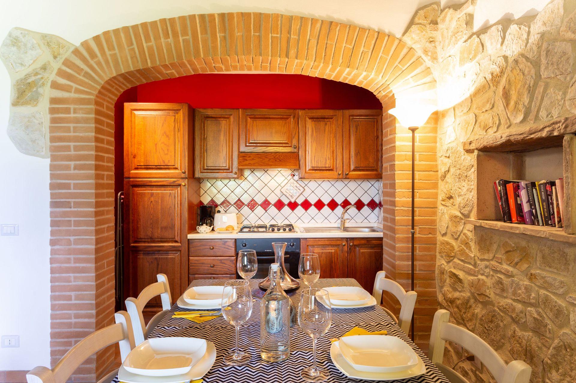 Coccinelle Posti Letto 6 In 2 Camere Casa Vacanza A Testa Di Lepre Umbria Italia