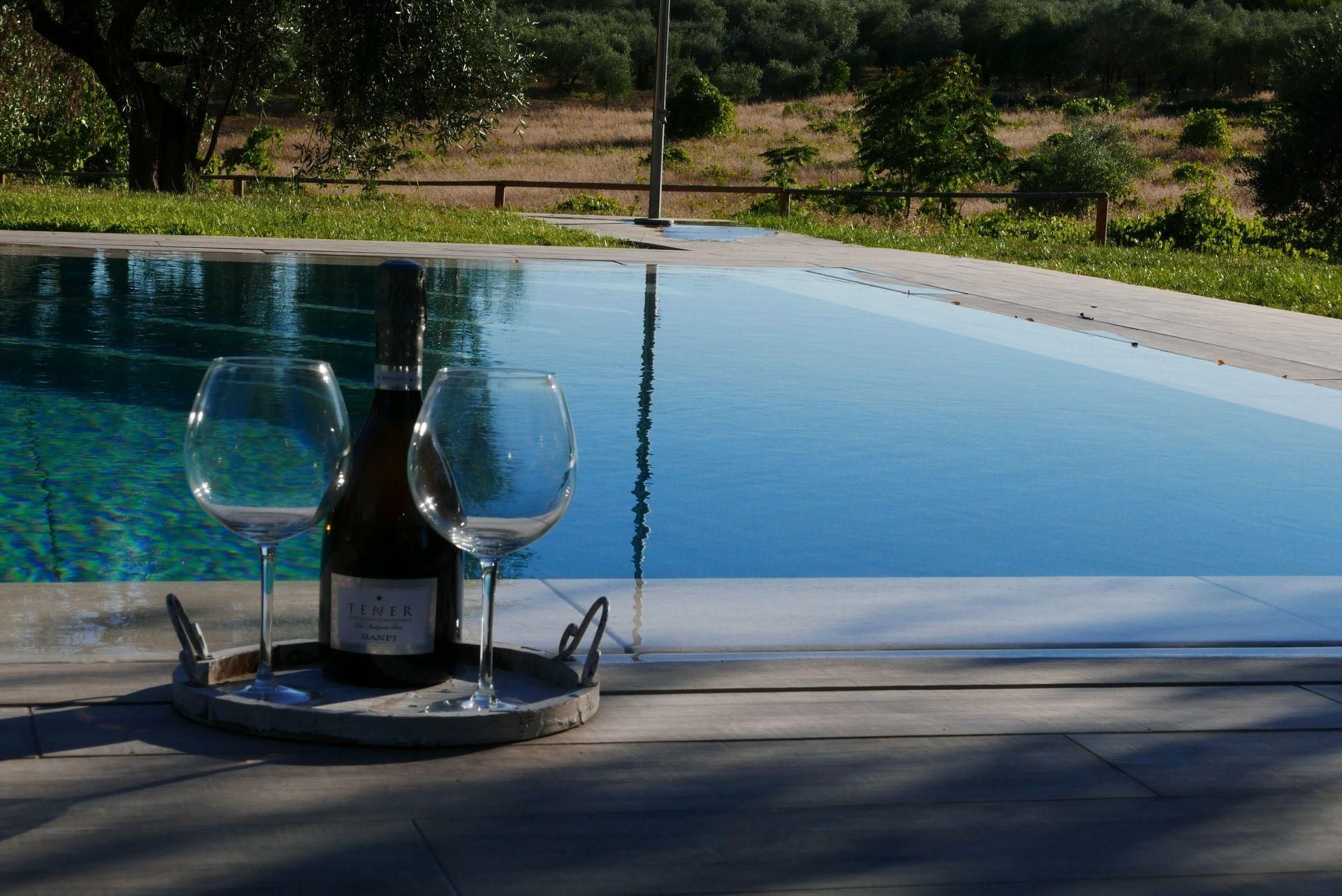 Paesaggi D Acqua Piscine agriturismo la pieve - casa vacanze con 8 posti letto in 3