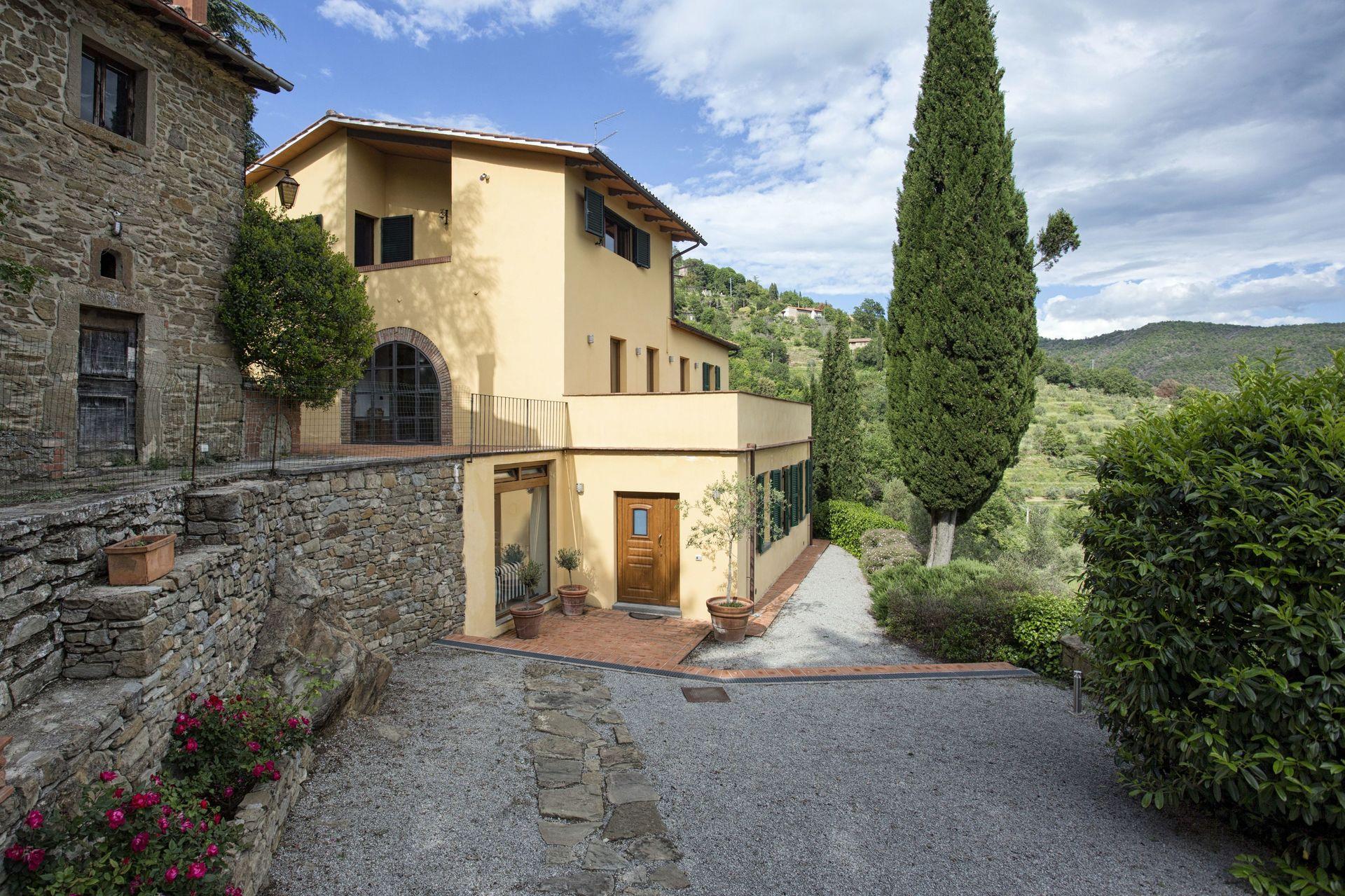 Cortona Case Villa Del Sole Cortona