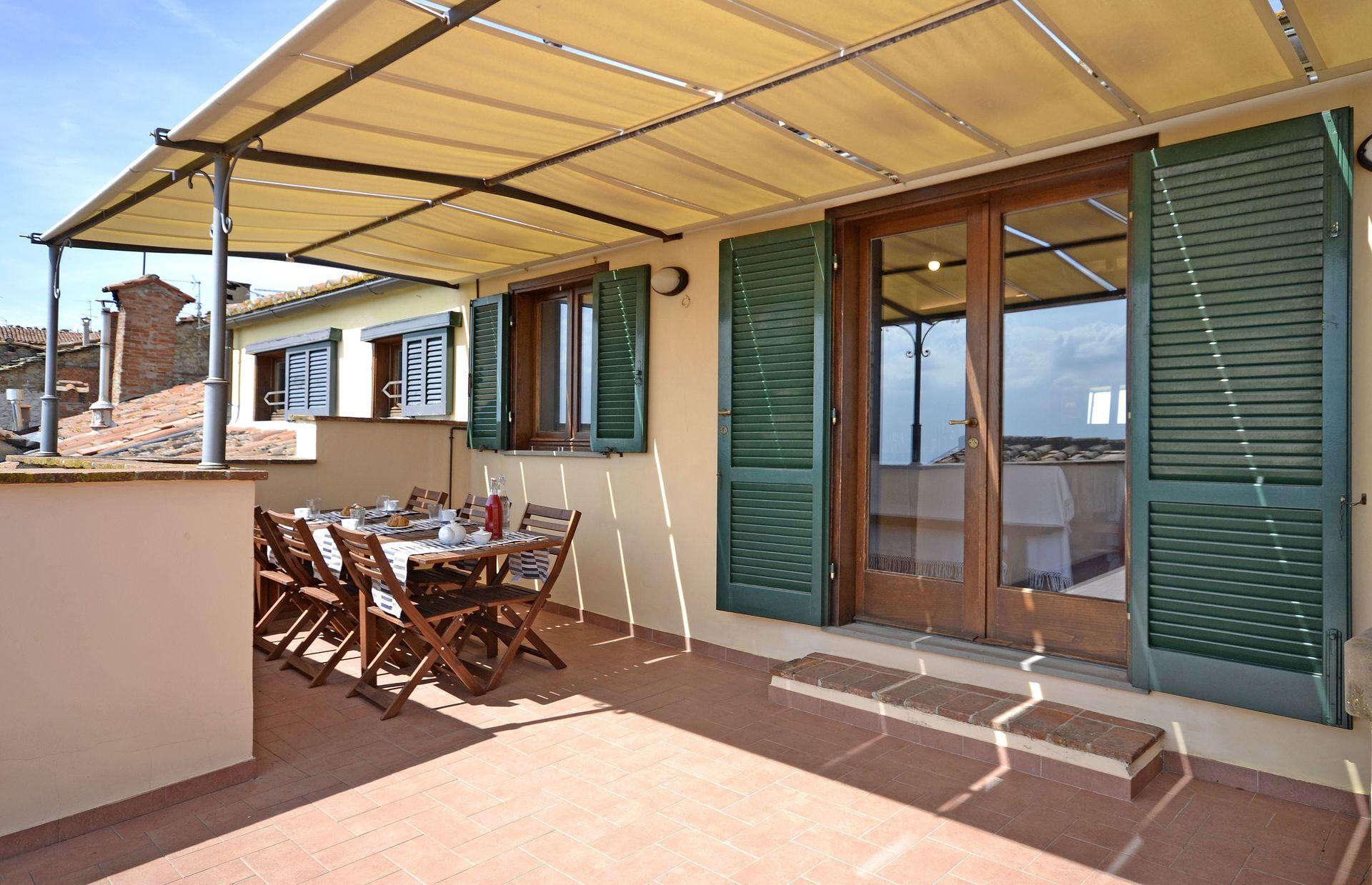 Cortona Charme La Terrazza Cortonese Villa That Sleeps 4