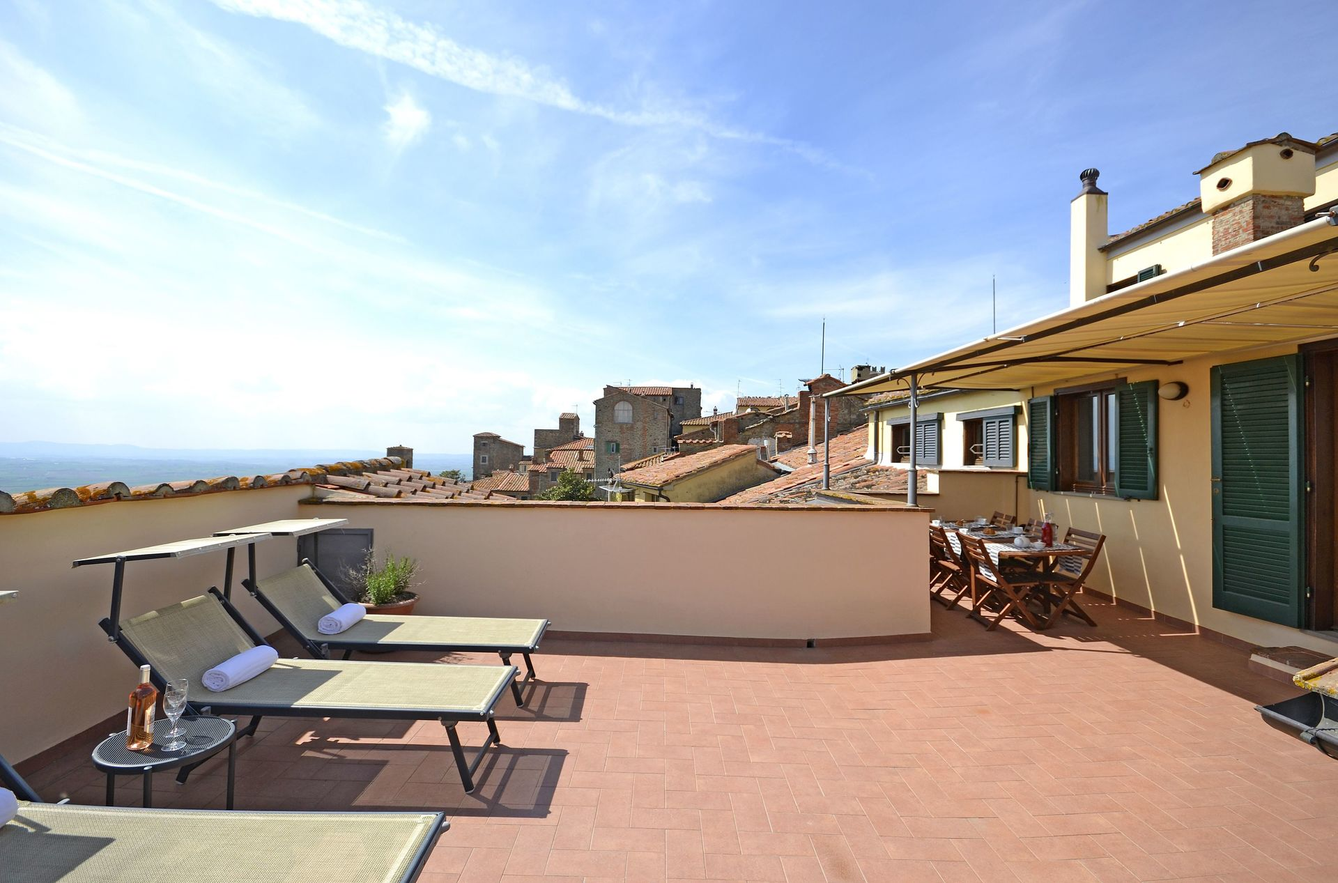 Cortona Charme La Terrazza Cortonese Villa That Sleeps 4