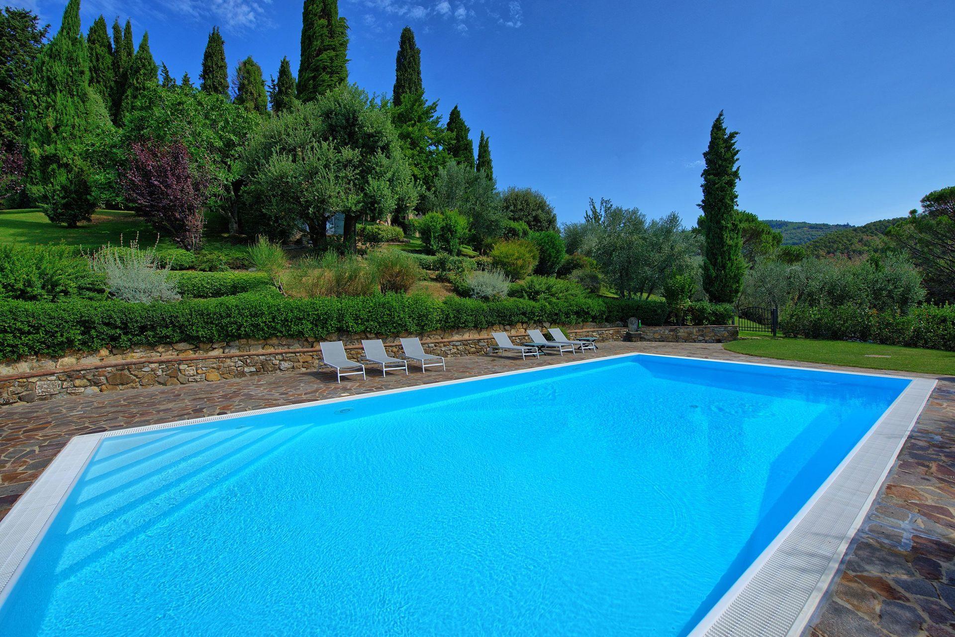 Paesaggi D Acqua Piscine villa di petriolo - casa vacanze con 6 posti letto in 3