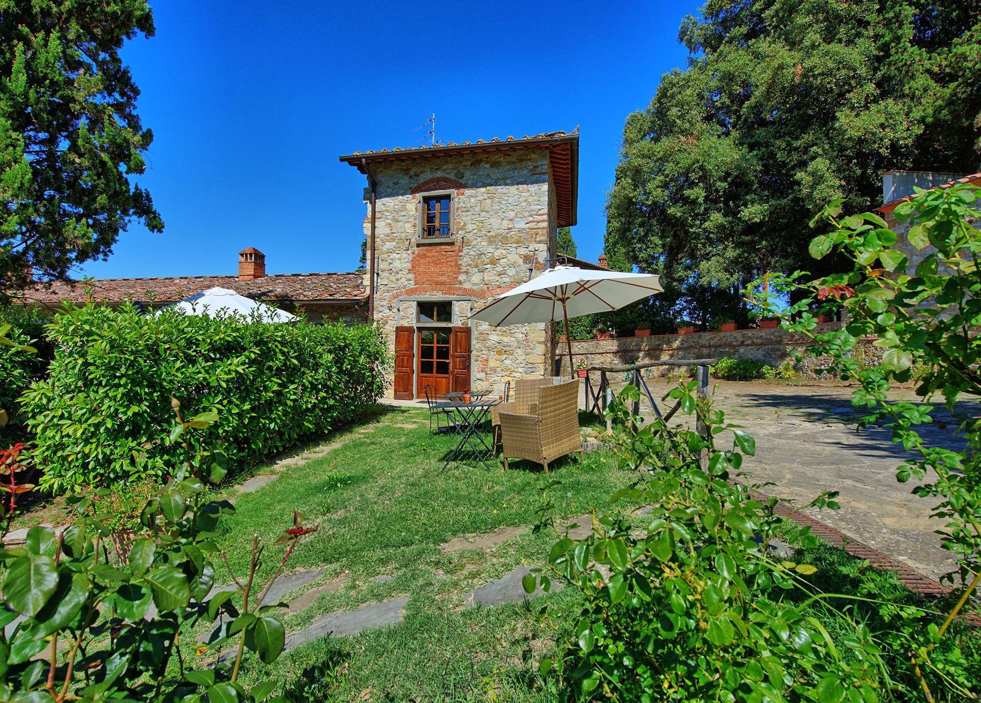Chiantigiana 1 posti letto 4 in 1 camere casa vacanza for Branson cabin rentals 4 camere da letto