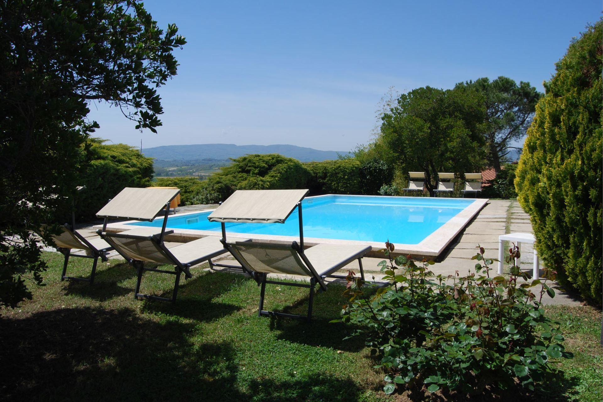 Castiglione Del Lago Villa Vacation Rental Poggio Falcone