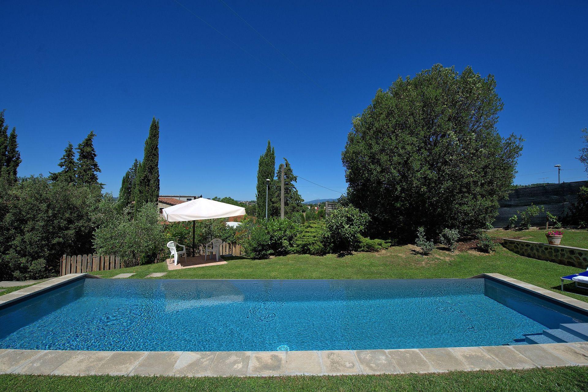 Arezzo Villa Vacation Rental Villa Peruzzi that sleeps 8