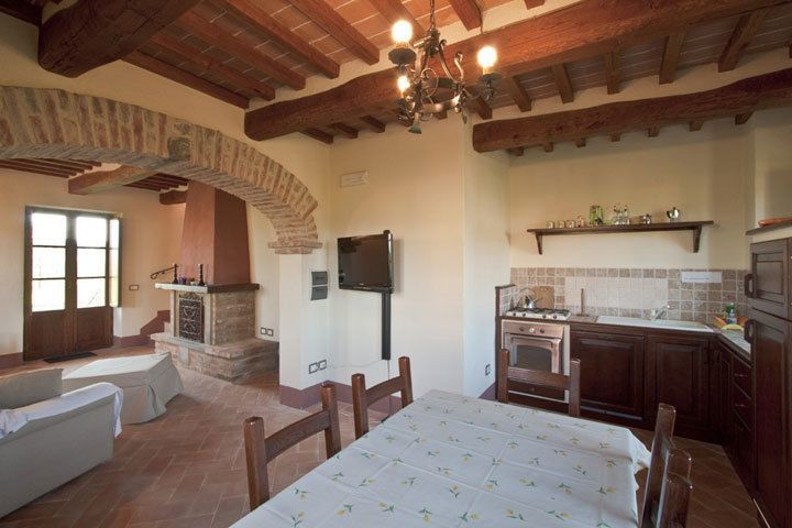 Accommodation le mimose cortona tuscany italy for Piani di casa fienile tetto hip