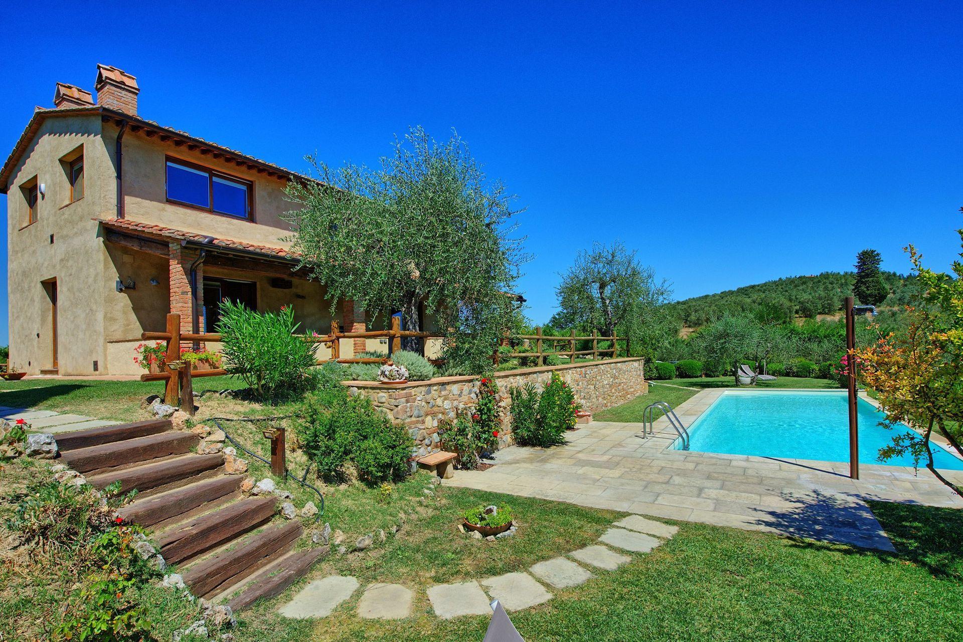 San martino a maiano villa vacation rental villa san for Tuscany villas