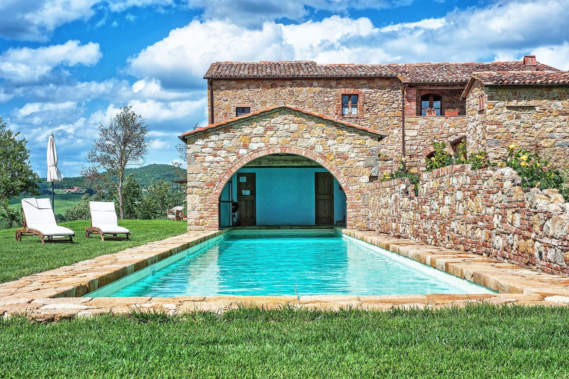 Casale pienza casa vacanze con 14 posti letto in 8 camere pienza toscana italia - Casale in toscana ...