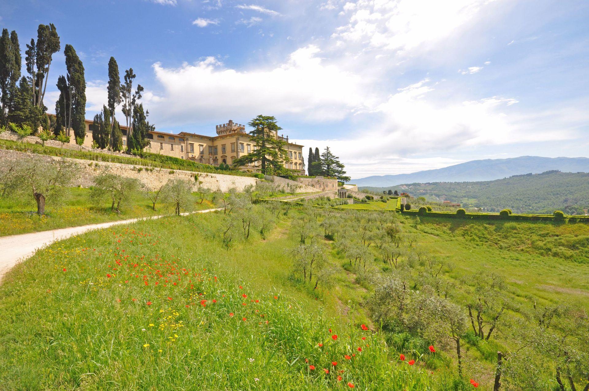 Collina casa vacanze con 34 posti letto in 17 camere for Ville in collina