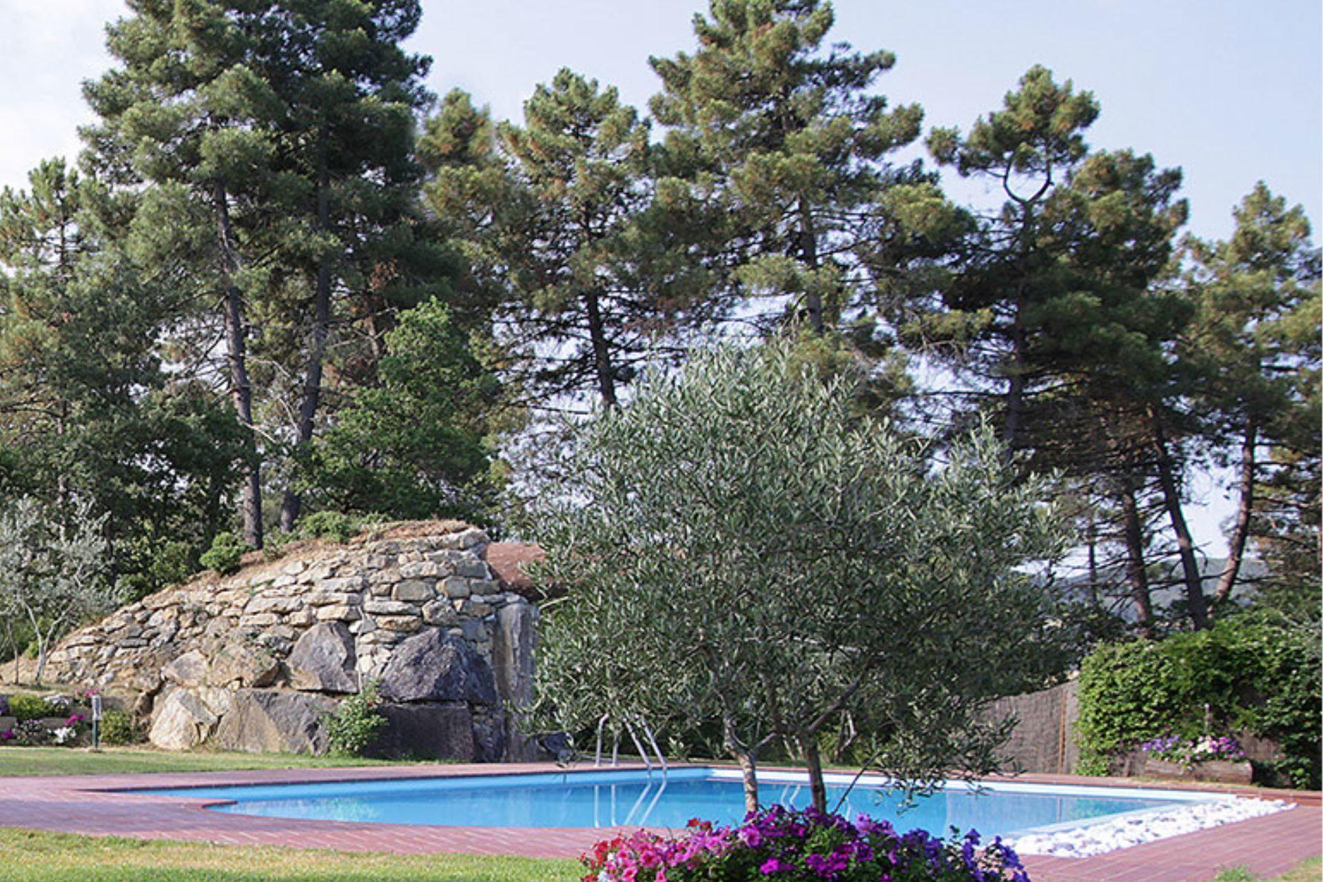 C È Una Casa Nel Bosco la casetta nel bosco - casa vacanze con 8 posti letto in 4