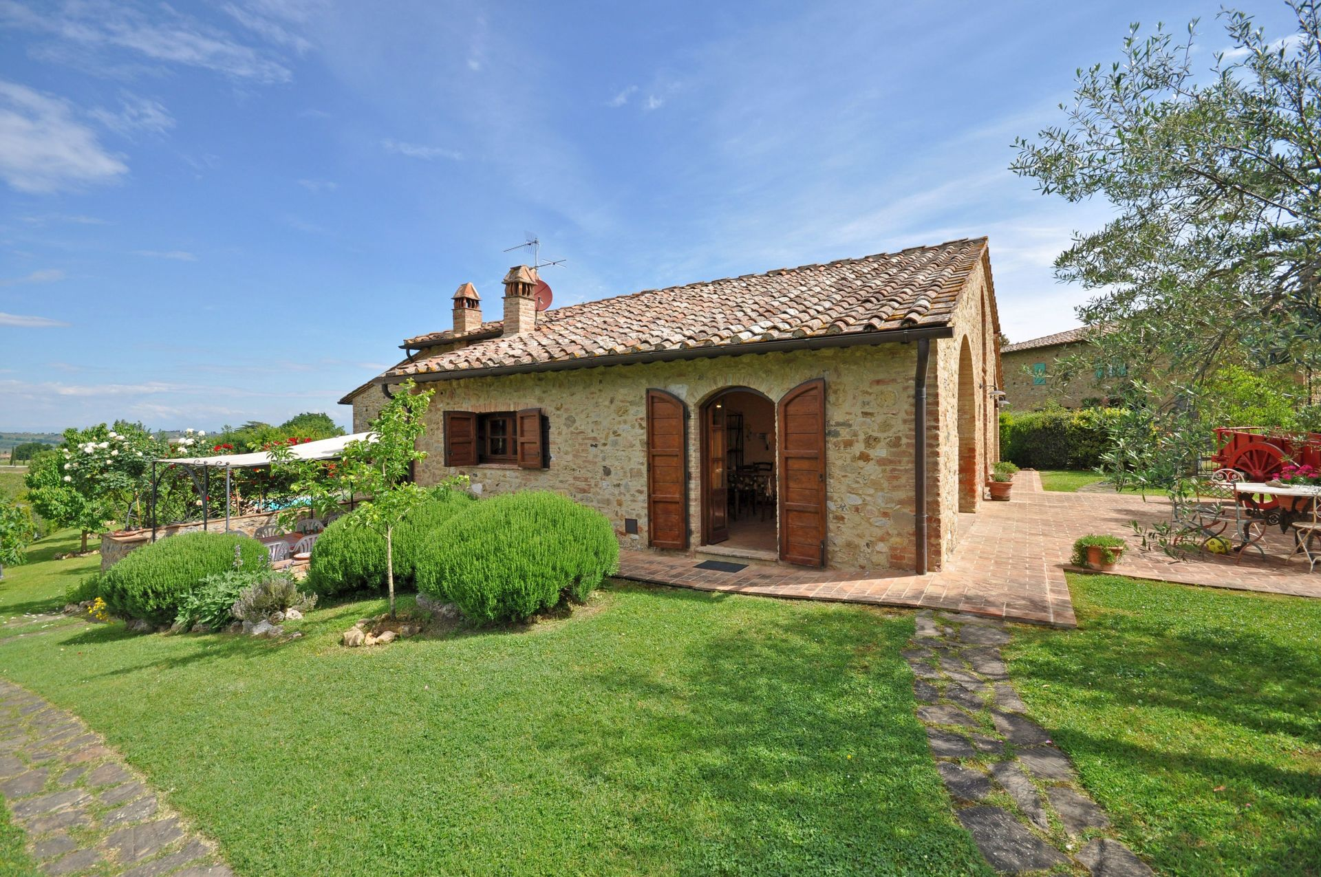 Italian Bedrooms San Gimignano Villa Vacation Rental Villa Giulia That