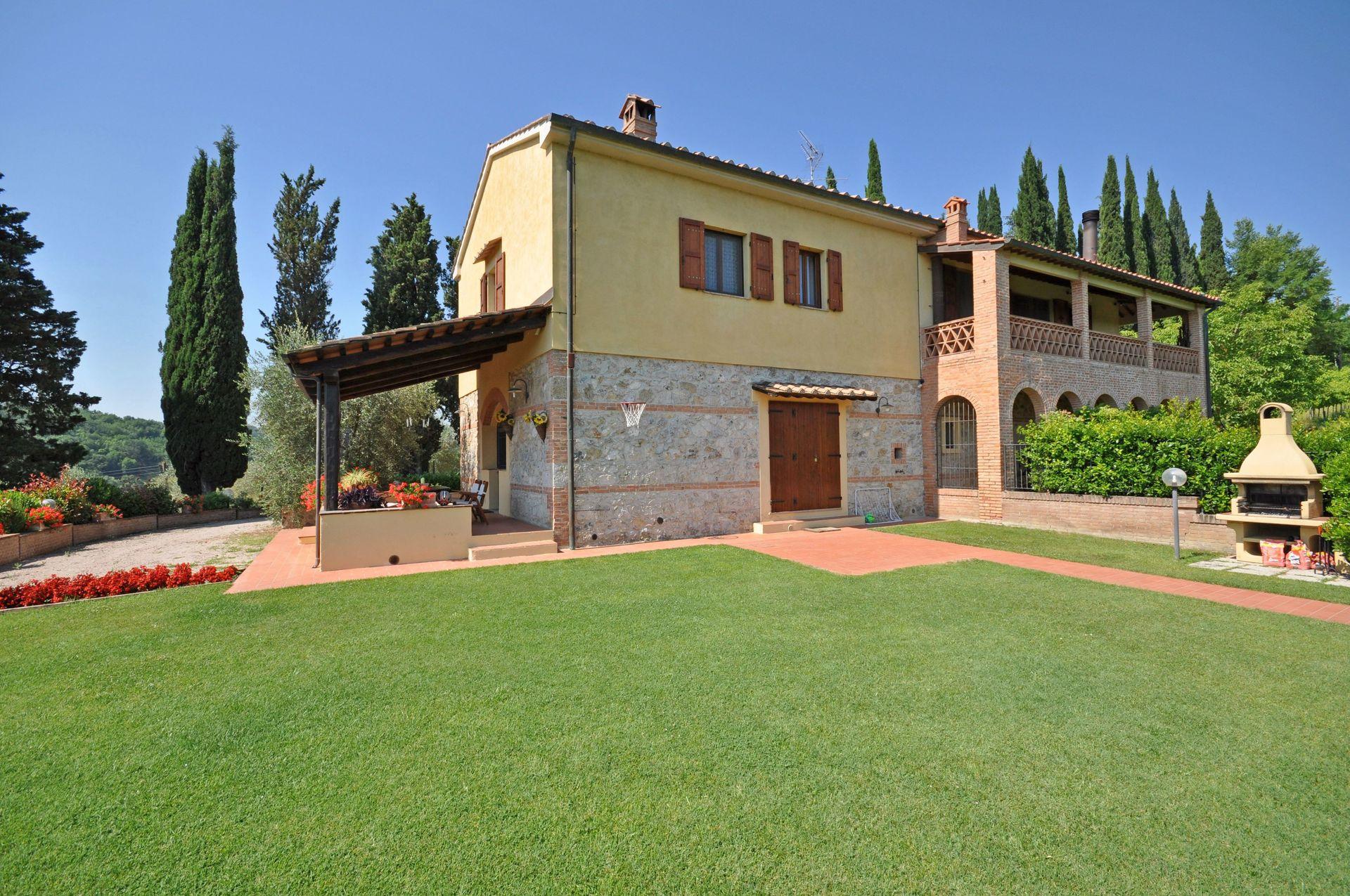 San Gimignano Villa Vacation Rental Casa Sabrina That Sleeps 7