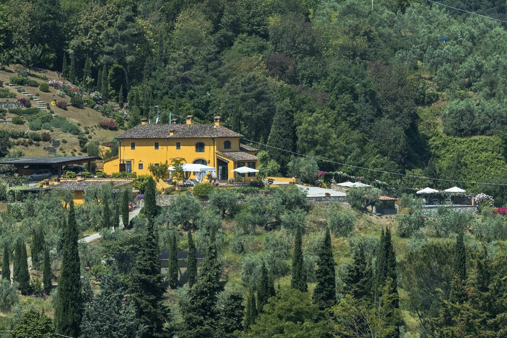 Villa Casalguidi Casa Vacanze Con 8 Posti Letto In 3